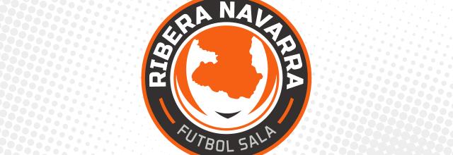 Logotipo Ribera Navarra Futbol Sala